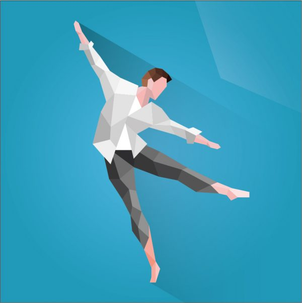Ballet de danza moderna